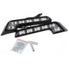 LED dienas gaitas lukturi, 6 diodes, 18x4x1.5cm
