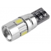 T10 LED spuldze CANBUS
