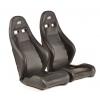 """Krēsls """"Dortmund"""", melns, regulējams + sliedes, labais + kreisais"""