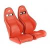 """Krēsls """"Dortmund"""", sarkans, regulējams + sliedes, labais + kreisais"""