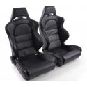 """Krēsls """"Edition 1"""", melns, regulējams + sliedes, labais + kreisais"""