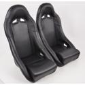 """Krēsls """"Club"""", melns + sliedes, labais + kreisais"""
