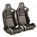 """Krēsls """"Bremen"""", pelēks/melns, regulējams + sliedes, labais + kreisais"""