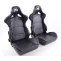 """Krēsls """"Control"""", melns, regulējams + sliedes, labais + kreisais"""