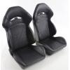 """Krēsls """"Halbschalensitz"""", melns, regulējams, labais + kreisais ar apsildi"""