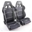 """Krēsls """"Cyberstar"""", melns/pelēks, regulējams + sliedes, labais + kreisais"""