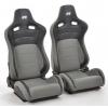 """Krēsls """"Koln"""", melns/pelēks, regulējams + sliedes, labais + kreisais"""