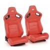 """Krēsls """"Bremen"""", sarkans, regulējams + sliedes, labais + kreisais"""