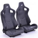 """Krēsls """"Stuttgart"""", melns, regulējams + sliedes, labais + kreisais"""