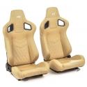 """Krēsls """"Stuttgart"""", smilškrāsas, regulējams + sliedes, labais + kreisais"""