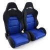 """Krēsls """"Edition 3"""", zils/melns, regulējams + sliedes, labais + kreisais"""