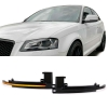 Audi A3 8P A4 B8 A5 B8 A6 C6 A8 D3 Q3 LED pagriezienu rādītāji, spogulī tonēti