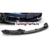 BMW F32/F33/F36 13-... M PERFORMANCE priekšējā bampera uzlika, melnas / glancētas