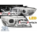 BMW E90/E91 05-08 3D AE LED hromēti