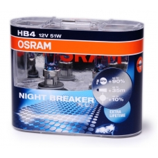 HB4 Osram Night breaker plus spuldzes