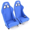 """Krēsls """"San Francisco"""", zils + sliedes, labais + kreisais"""