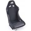 "Krēsls ""Monza"", melns + sliedes"