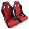 "Krēsls ""Edition 4"", sarkans/melns + sliedes, labais + kreisais"