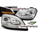 MERCEDES W164 ML M-CLASS 05-07 hromēti LED SEQ