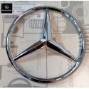 Mercedes-benz emblēma hromēta A 163880086