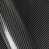 Karbona 4D pašlīmējošā plēve melna, 0.5x1.5m