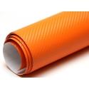 Karbona 3D pašlīmējošā plēve oranža, 0.5x1.27m