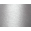 Self-adhesive film 0.5x1m, silver/brushed aluminum effect
