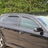 Audi A3 8L (96-03) logu deflektori, 5-durvju modelim, 4 gab