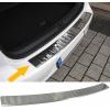 VW Golf Sportsvan (14-...) aizmugures bampera aizsargs, hromēts