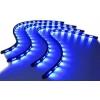 LED apgaismojuma virtenes 4x60cm zilas ar vairākām funkcijām