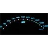 Smart fortwo (98-07) plazmas spidometri 0-140km/h, pelēki