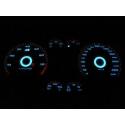 Audi A4 B5 (94-01) plazmas spidometri 0-280km/h, pelēki