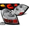 Skoda Fabia (07-14) LED aizmugurējie lukturi, hromēti