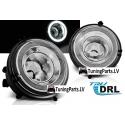 MINI COOPER R55, R56, R57 LED Miglas lukturi ar dienas gaismām, DRL, R87