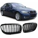BMW 3ser. E90 E91 LCI (08-12) Priekšējās restes, melnas, glancētas