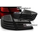 BMW F10 (10-13) aizmugurējie LED lukturi, Melni/Tonēti, LCI Look