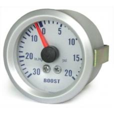 """Turbīnas spiediena mērītājs 20 psi (1.5 bar)  """"silver"""""""