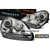 Porsche Cayenne (02-06) priekšējie lukturi, LED dayline, hromēti, xenona