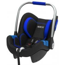 "Krēsls ""SPARCO F300i ISOFIX"",melns / zils (0-13kg)"