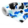 Kamoflāžas plēve Ice Blue 0.5x2m