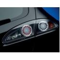 Seat Leon (05-09) aizmugurējie LED lukturi, melni