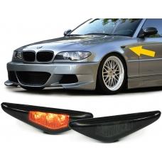 BMW E46 Coupe / Cabrio (03-07) LED sānu pagriezienu rādītāji, tonēti