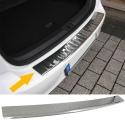 Renault Koleos (08-16) aizmugures bampera aizsargs, hromēts
