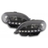 Citroen Saxo (99-03) priekšējie lukturi, dayline, melni