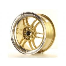 Alumīnija diski Japan Racing JR7 15x7 ET40 4x100/114 Gold