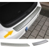 Hyundai I30 (12-...) aizmugures bampera aizsargs, sudraba