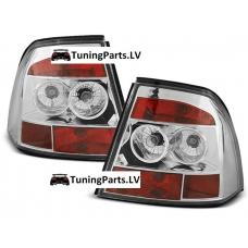 Opel Vectra B (99-02) aizmugurējie lukturi, hromēti