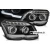 Mercedes-Benz GLK X204 (08-12) priekšējie LED Dayline lukturi, melni