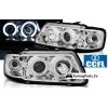 Audi A3 8L (96-00) priekšējie lukturi, eņģeļ acis, CCFL, hromēti