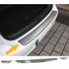 Mazda CX-3 (15-...) aizmugures bampera aizsargs, sudraba